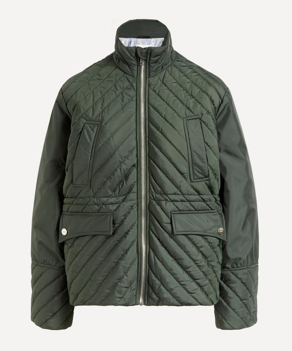 Ganni - Recycled Polyester Quilted Jacket