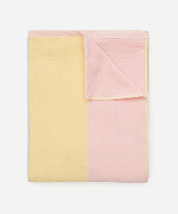 HELMSTEDT - Tri-Colour Striped Cotton Beach Towel