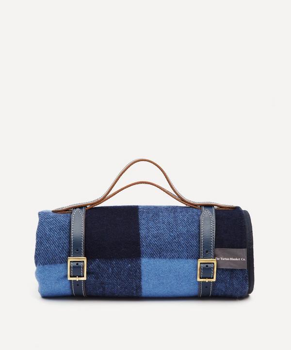 The Tartan Blanket Co. - Buffalo Check Recycled Wool Picnic Blanket