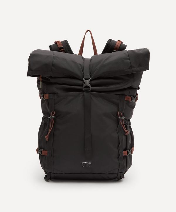Sandqvist - Forest Hike Recycled-Nylon Roll-Top Backpack