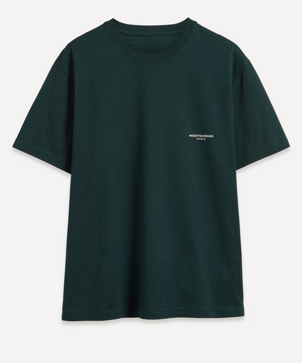 Wooyoungmi - Logo Print Short-Sleeve T-Shirt
