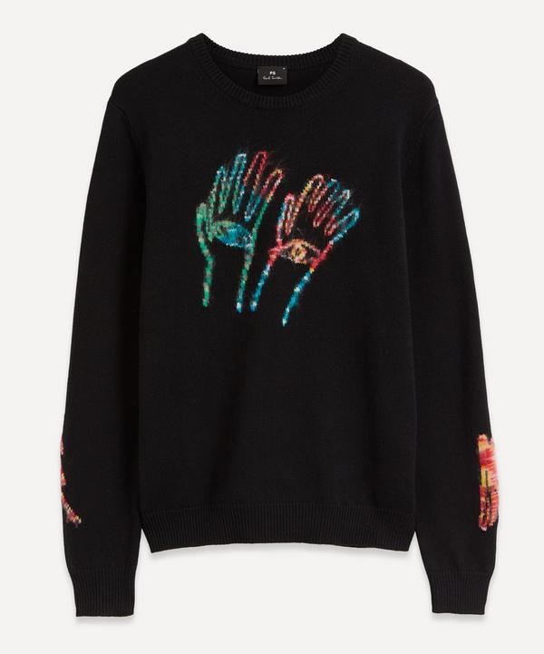 PS Paul Smith - Embroidered Hands Graphic Sweater