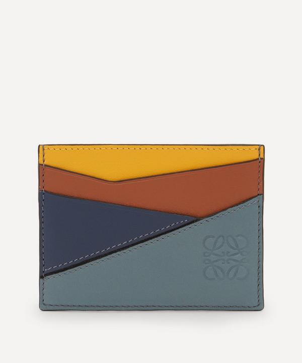 Loewe - Puzzle Plain Leather Cardholder