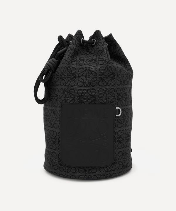 Loewe - Sailor Anagram Jacquard Canvas and Leather Duffel Bag
