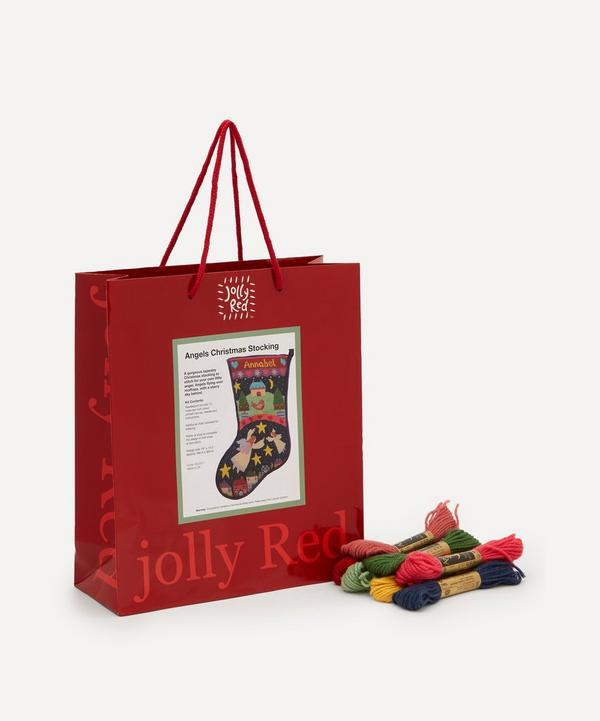 Jolly Red - Angels Christmas Stocking Tapestry Kit