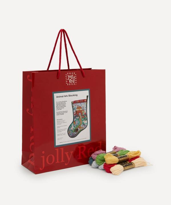 Jolly Red - Animal Ark Christmas Stocking Tapestry Kit