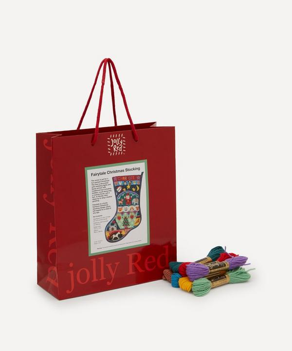 Jolly Red - Fairytale Christmas Stocking Tapestry Kit