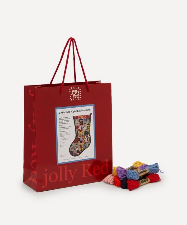 Jolly Red - Animal Alphabet Christmas Stocking Tapestry Kit
