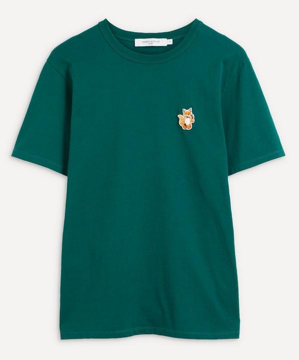 Maison Kitsuné - All Right Fox Patch T-Shirt