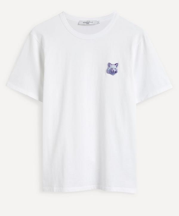 Maison Kitsuné - Cool Tone Fox Head Patch T-Shirt