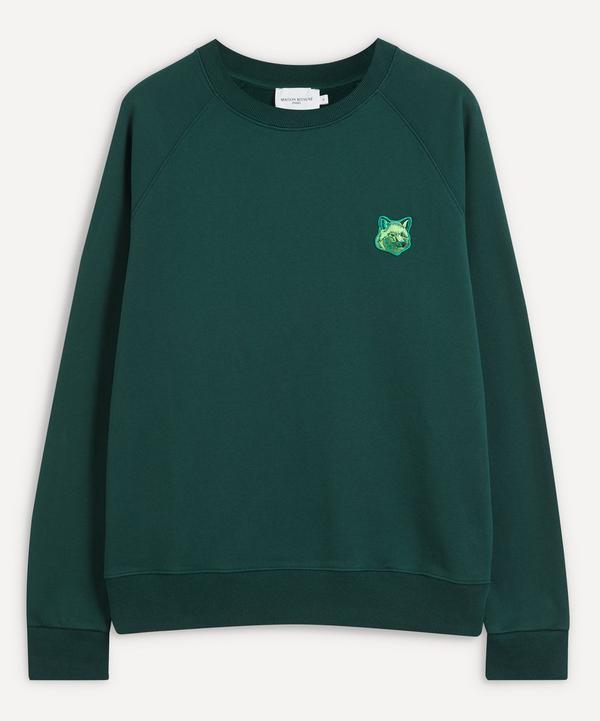 Maison Kitsuné - Cool-Tone Fox Patch Sweatshirt
