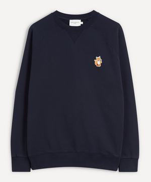 All Right Fox Patch Sweatshirt