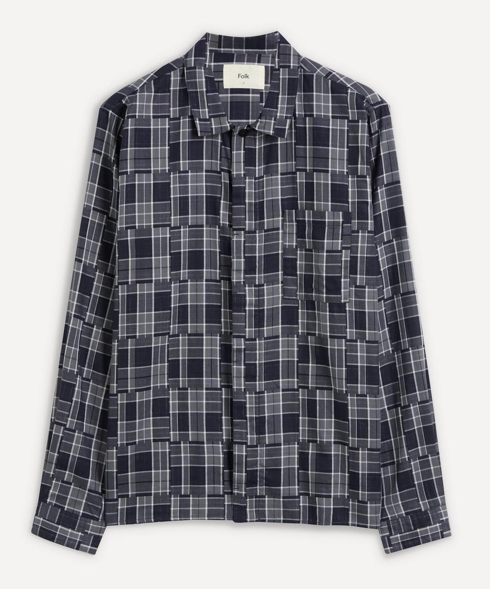 Folk - Patch Check Shirt