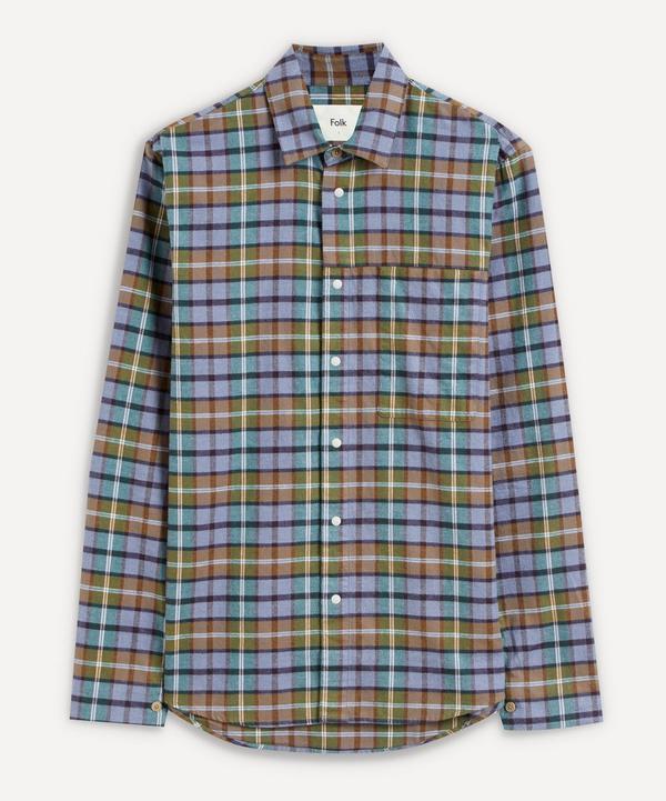 Folk - Clean Cuff Flannel Shirt