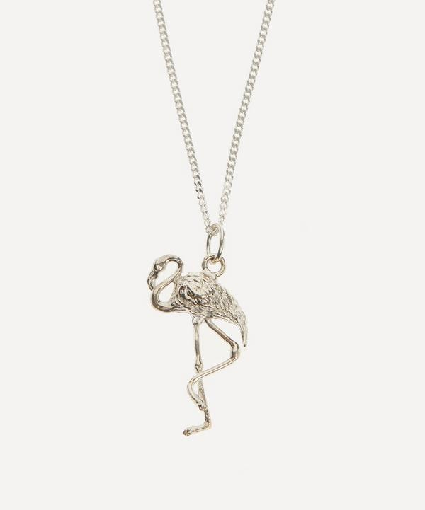 Johnny Hoxton - Sterling Silver Flamingo Pendant Necklace