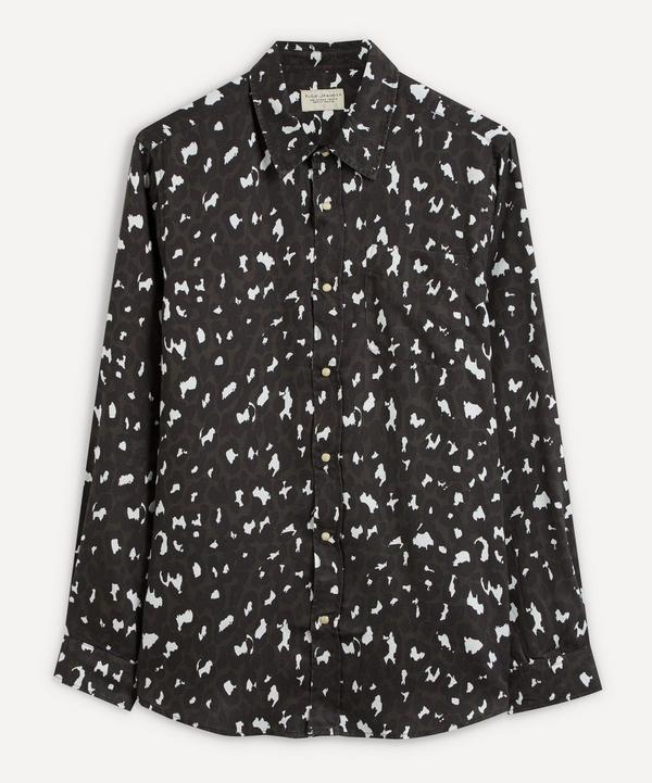 Nudie Jeans - Chuck Black Leopard Shirt