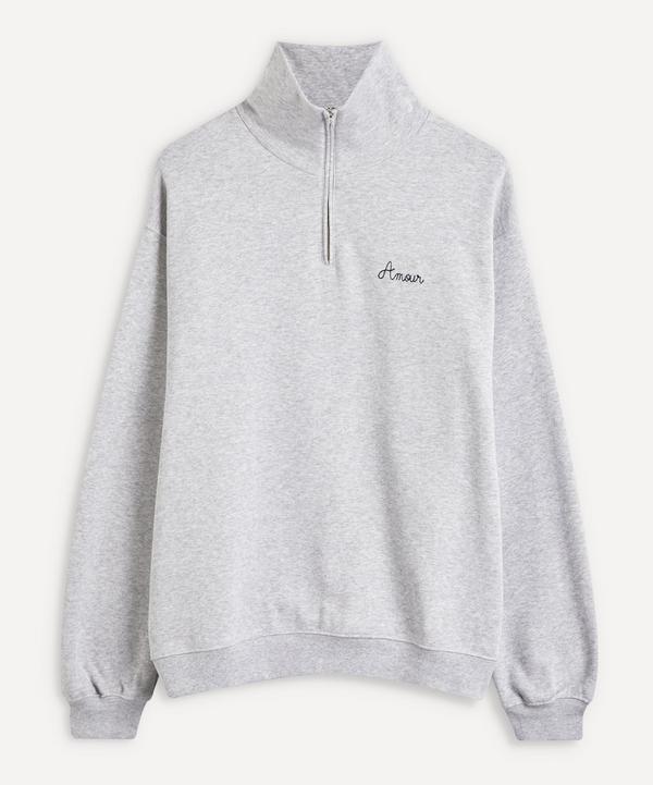 Maison Labiche - Amour Quarter-Zip Sweater