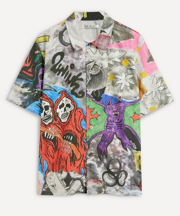 Our Legacy - Box Skeletorn Print Shirt