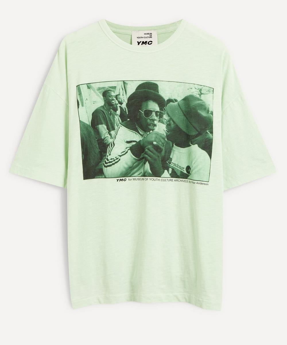 YMC - Triple Reggae Print T-Shirt