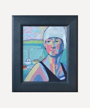 Annette at Newquay Original Framed Artwork