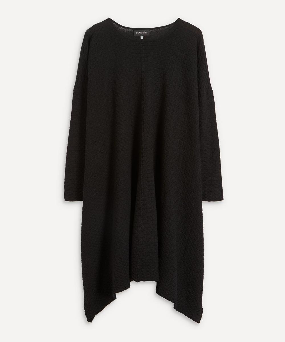 Eskandar - Bateau-Neck Dress