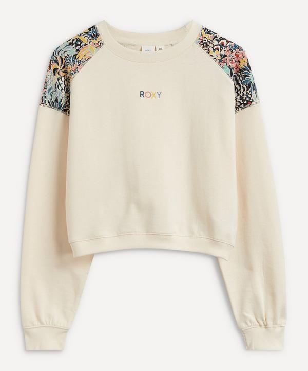 ROXY - Marine Bloom Crew-Neck Sweatshirt