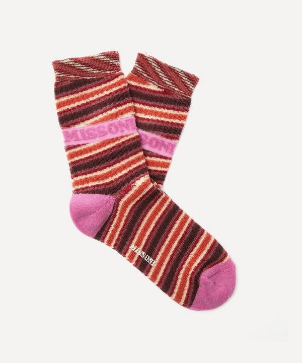 Missoni - Logo Stripe Cotton-Blend Socks
