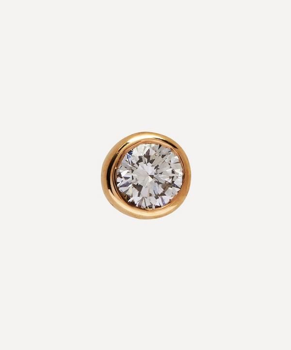 Maria Black - Gold Mega Dot Diamond Single Stud Earring