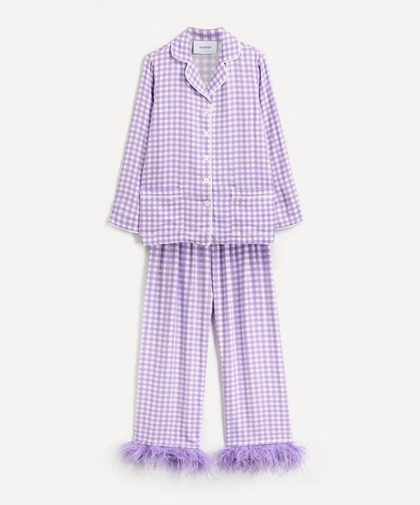 Sleeper - Gingham Party Pajama Set