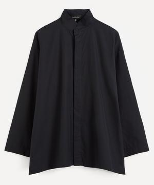 Double Stand Collar A-Line Shirt