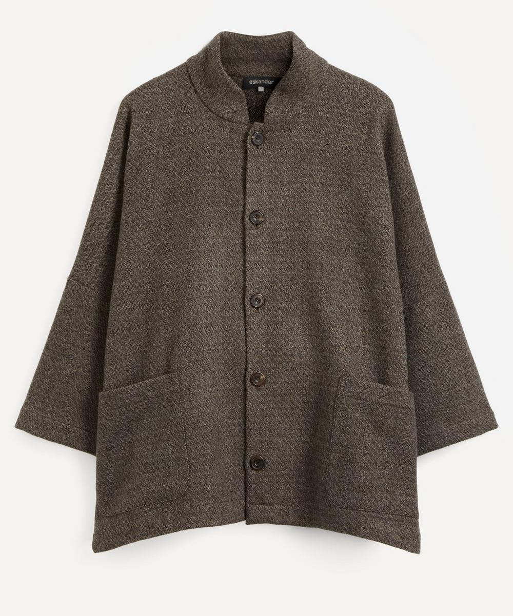 Eskandar - Chinese Collar Coat