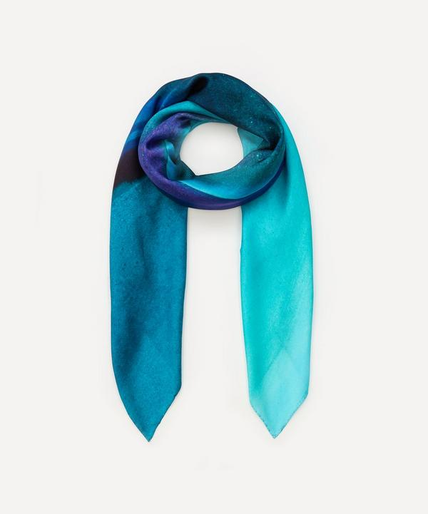 Weston - Peony Agate Print Silk Scarf