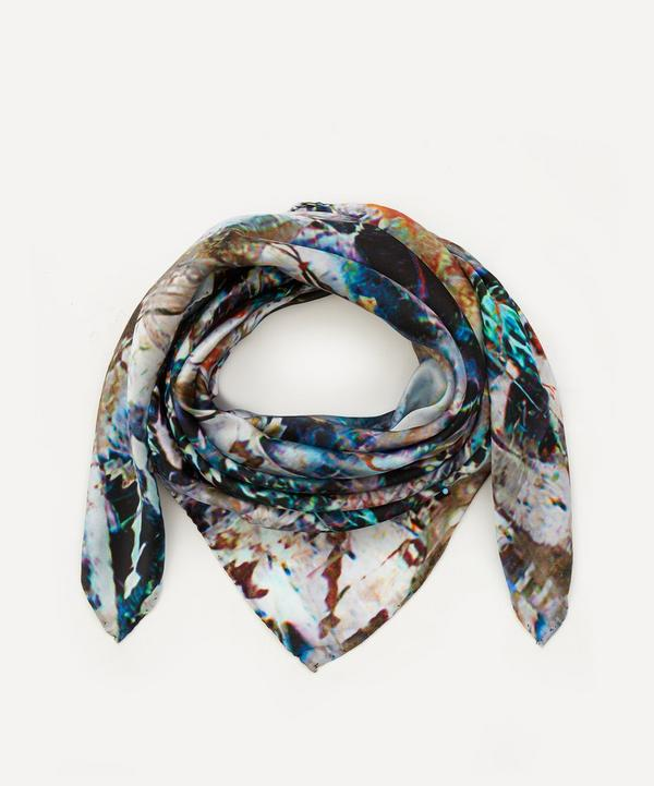 Weston - Star Quartz Print Silk Scarf