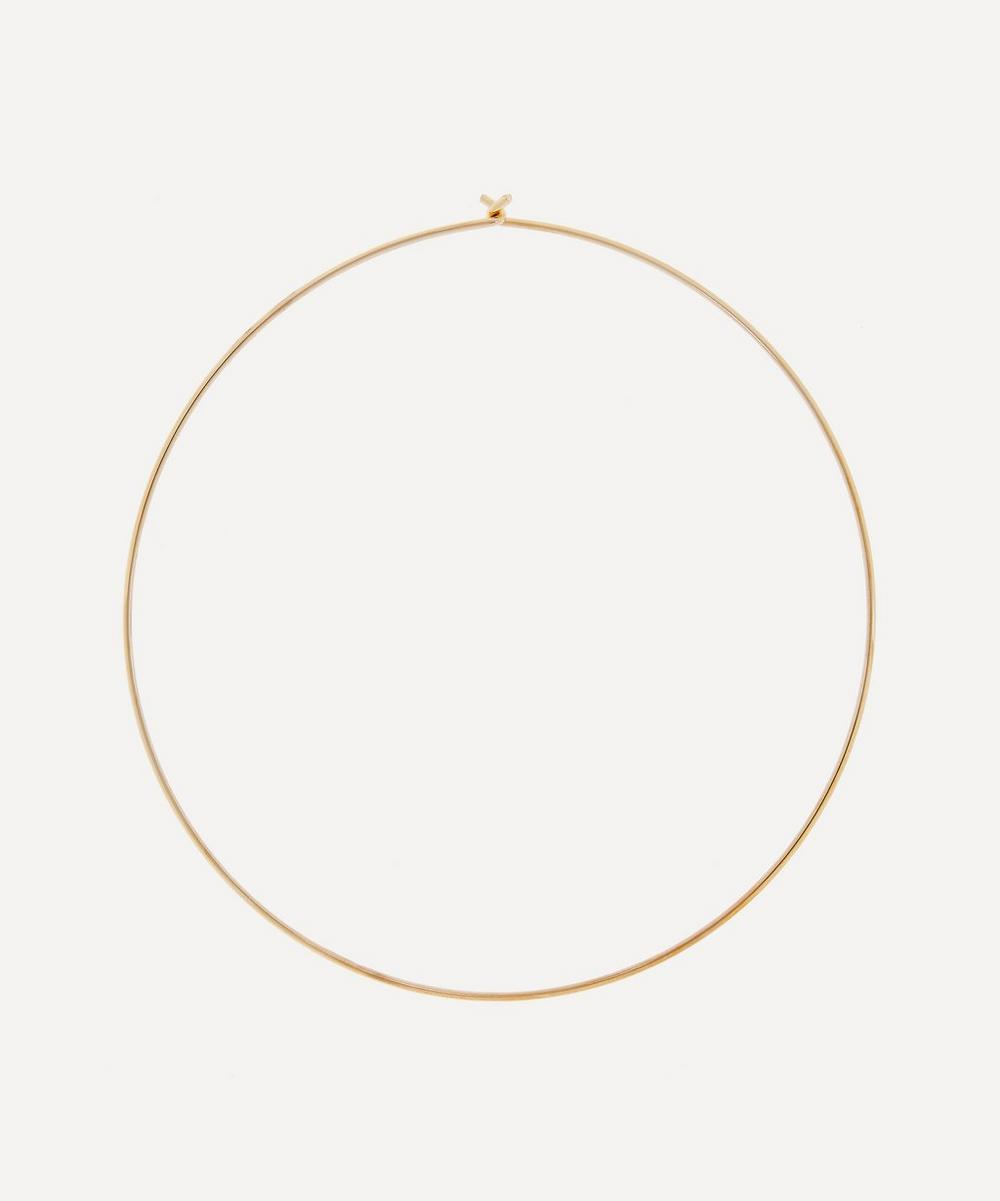 Susan Caplan Vintage - Gold-Plated 1990s Collar Necklace