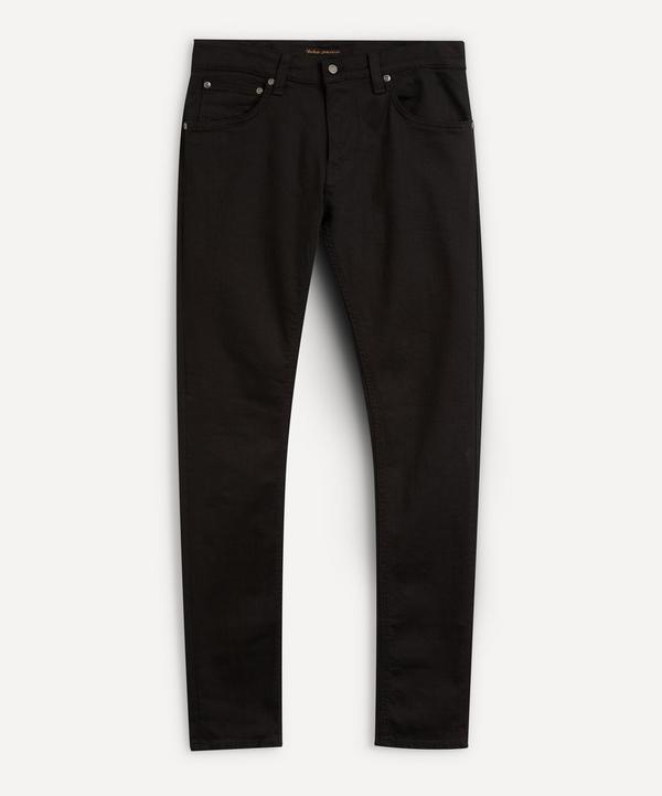 Nudie Jeans - Tight Terry Jeans in Everblack