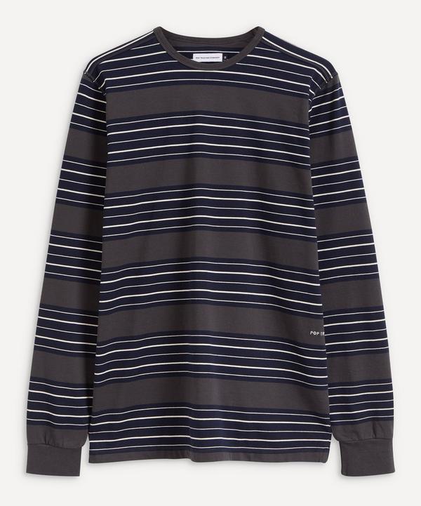 Pop Trading Company - Striped Long-Sleeve T-Shirt