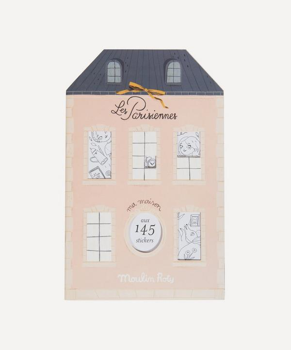 Moulin Roty - Sticker Colouring Book