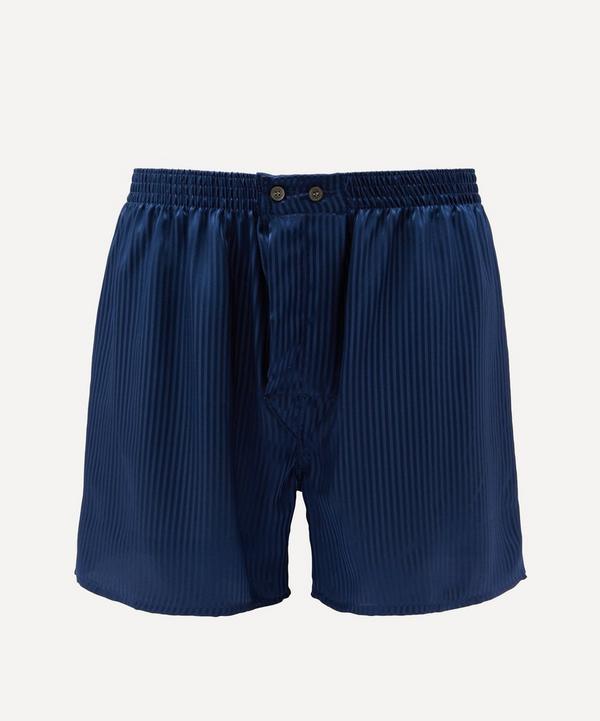Derek Rose - Classic Fit Silk Boxer Shorts