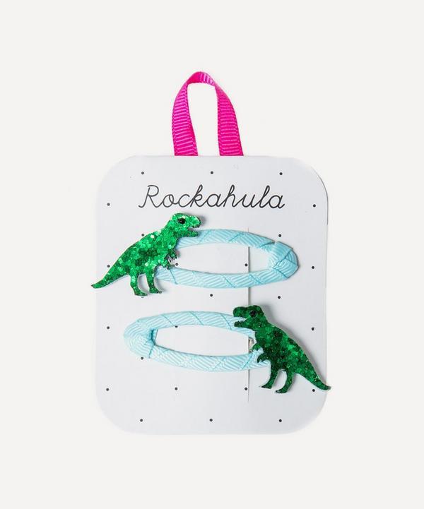 Rockahula - T-Rex Glitter Hairclips