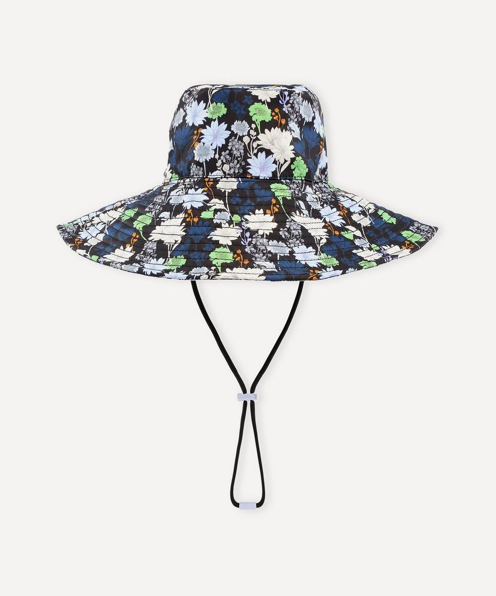 Ganni - Recycled Tech Fabric Wide Brim Bucket Hat