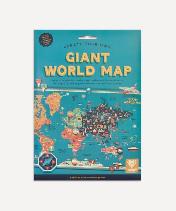 Clockwork Soldier - Giant World Map