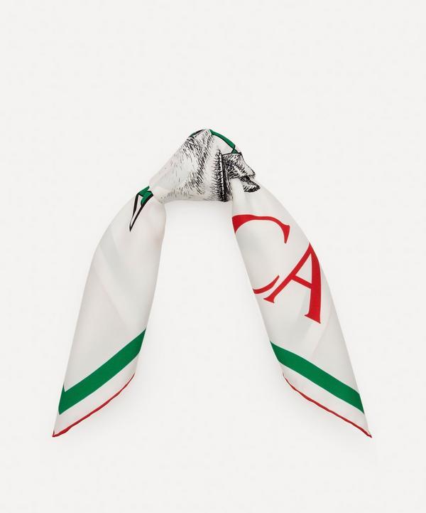 Casablanca - Printed Silk Scarf