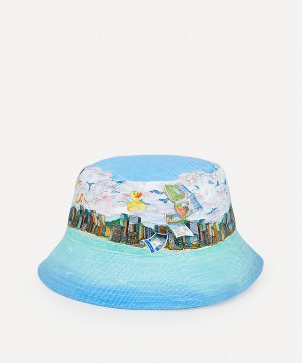 Casablanca - Voyage Dan Les Nuages Bucket Hat