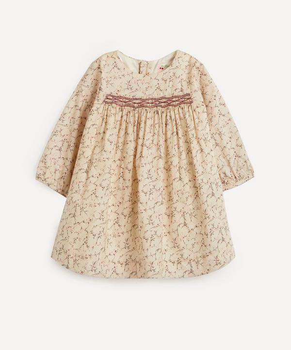 Bonpoint - Felicie Smocked Dress 12 Months