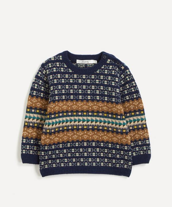 La Coqueta - Jacquard Cotton-Wool Jumper 18 Months