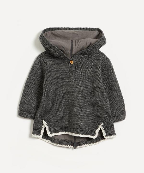 Bonpoint - Tainy Wool-Blend Hoodie 12 Months