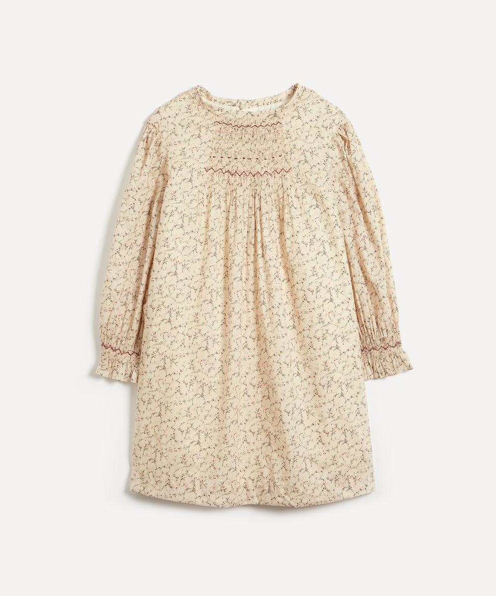 Bonpoint - Divine Smocked Liberty Fabric Dress 4-8 Years