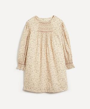 Divine Smocked Liberty Fabric Dress 4-8 Years