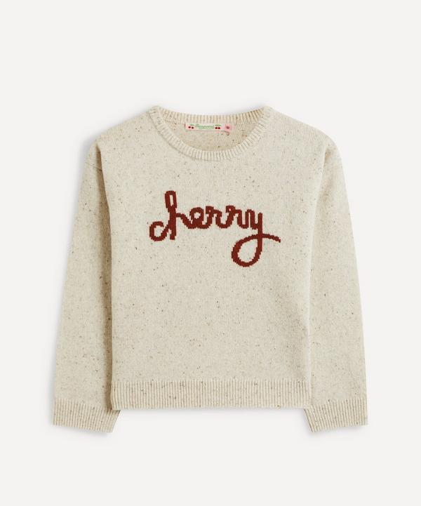 Bonpoint - Cherry Sweatshirt 4-8 Years