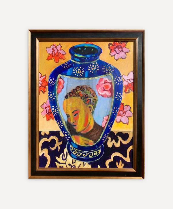 Naomi Munuo - Satsuma Vase 8 2020 Original Framed Artwork